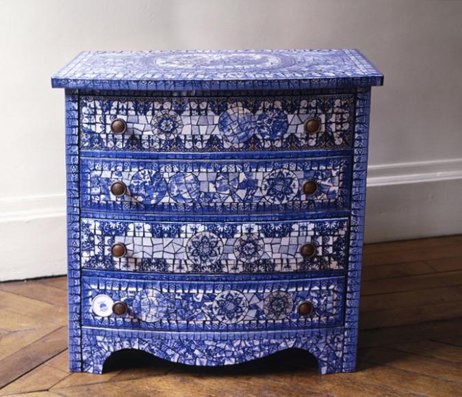 atelier mosaique paris et atelier mosaique tours commode. Black Bedroom Furniture Sets. Home Design Ideas